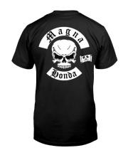 Biker Magna Wordwide Classic T-Shirt back