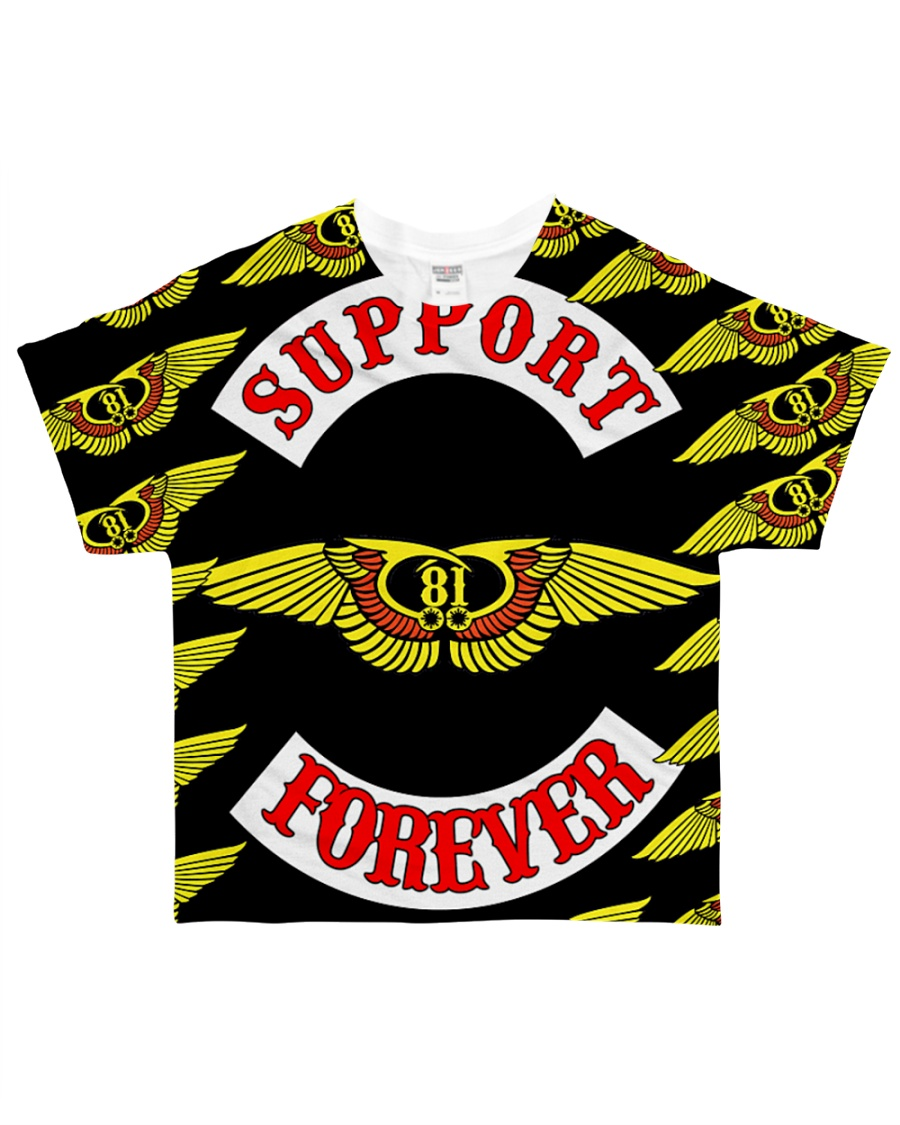 Support 81 Forever t-shirt Limited Stock  All-over T-Shirt