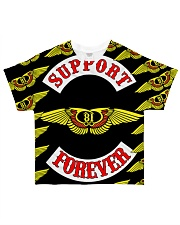 Support 81 Forever t-shirt Limited Stock  All-over T-Shirt front