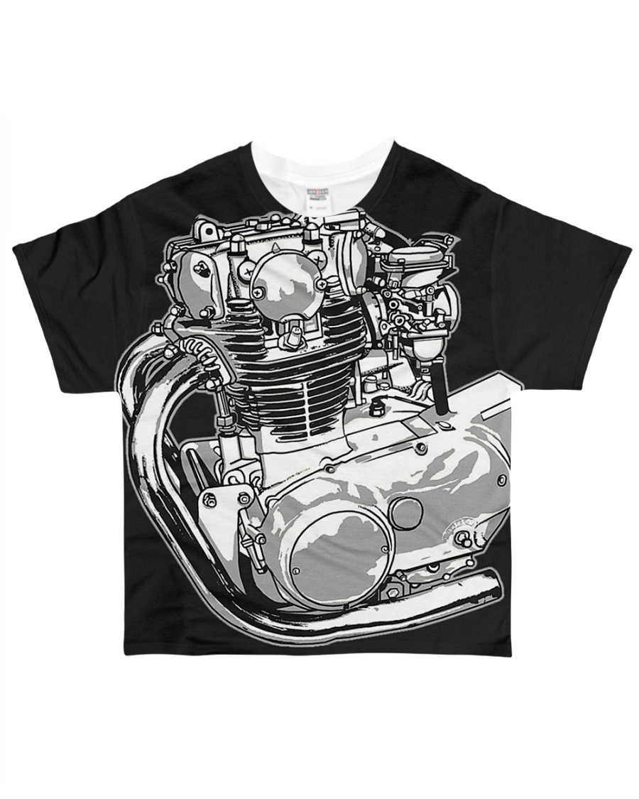 classic classic 650 650 All-over T-Shirt