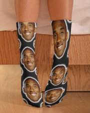 k kobe Socks Crew Length Socks aos-accessory-crew-length-socks-lifestyle-front-02