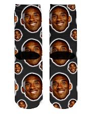 k kobe Socks Crew Length Socks back