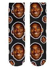 k kobe Socks Crew Length Socks front