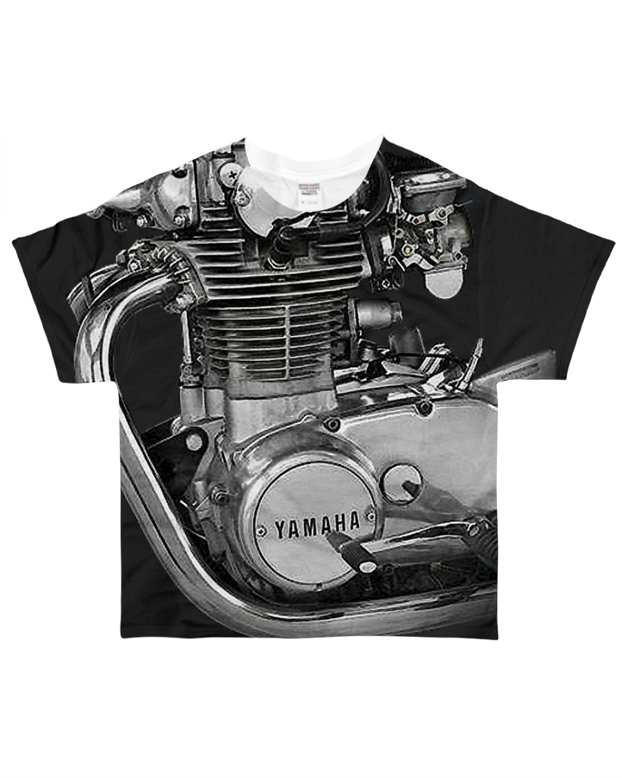 XS650 Worldwide All-over T-Shirt