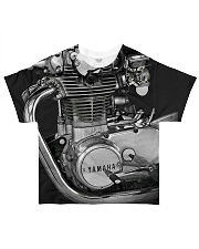 XS650 Worldwide All-over T-Shirt front