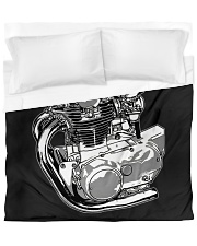 xs650 lovers Duvet Cover tile