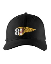 Wing top Embroidered Hat front