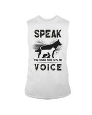 Speak for those who have no voice Sleeveless Tee thumbnail