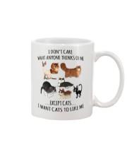 I DON'T CARE Mug thumbnail