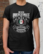 HEART AND SOUL ALWAYS BELONG TO MEXICO Classic T-Shirt apparel-classic-tshirt-lifestyle-30