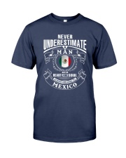 HEART AND SOUL ALWAYS BELONG TO MEXICO Premium Fit Mens Tee thumbnail