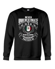 HEART AND SOUL ALWAYS BELONG TO MEXICO Crewneck Sweatshirt thumbnail