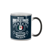 HEART AND SOUL ALWAYS BELONG TO MEXICO Color Changing Mug thumbnail