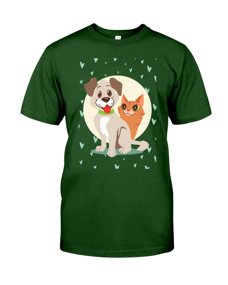 dog cat lover gifts Classic T-Shirt