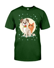 dog cat lover gifts Classic T-Shirt front