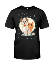 dog cat lover gifts Premium Fit Mens Tee thumbnail