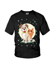 dog cat lover gifts Youth T-Shirt thumbnail