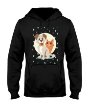 dog cat lover gifts Hooded Sweatshirt thumbnail