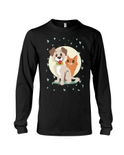 dog cat lover gifts Long Sleeve Tee thumbnail