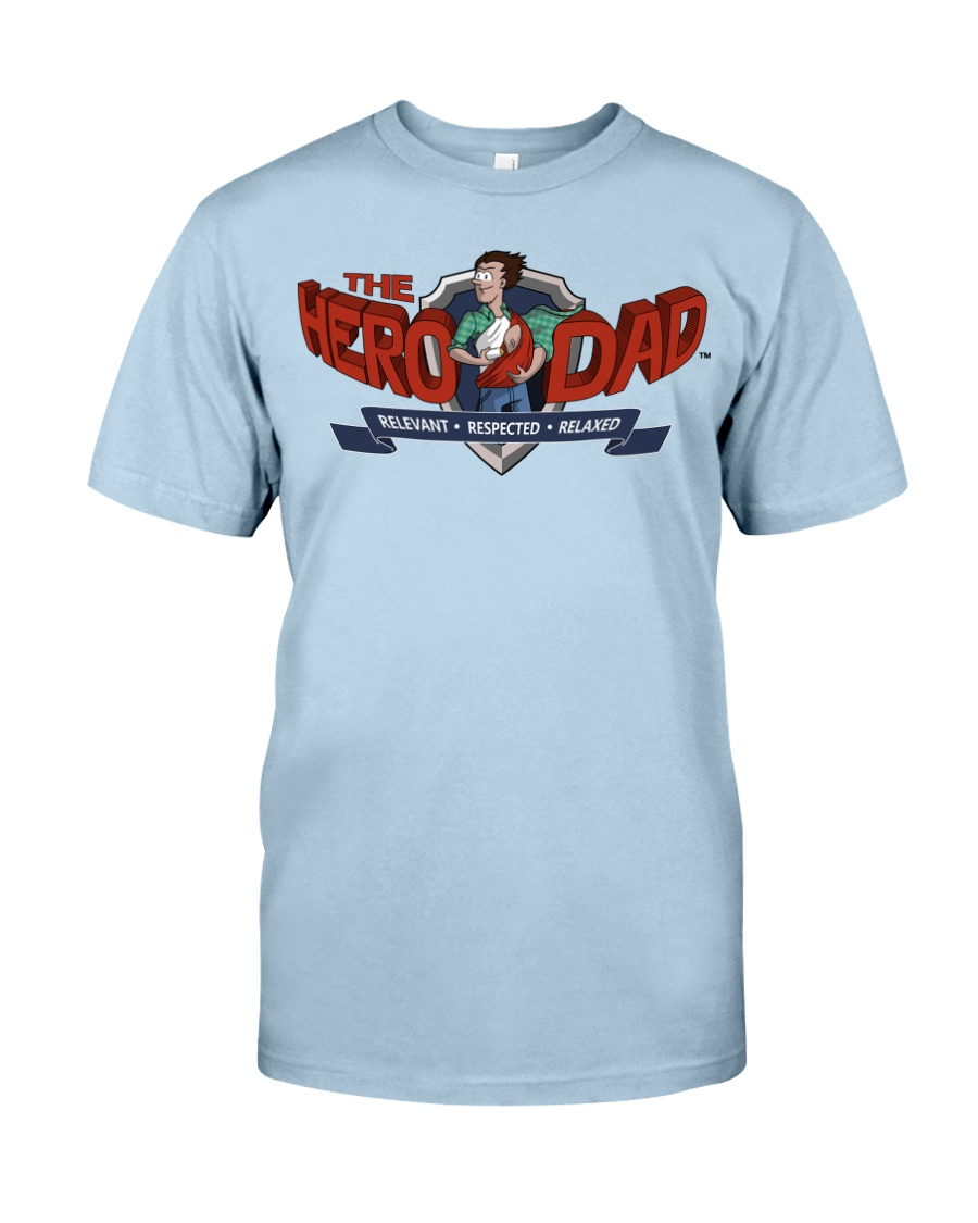 Dad Hero Classic T-Shirt