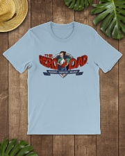 Dad Hero Classic T-Shirt lifestyle-mens-crewneck-front-18