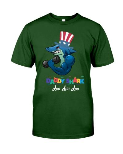 Daddy Shark T-Shirt Doo Doo Doo Tee
