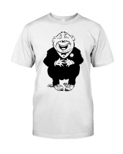 Funny Quotes On Stomach Classic T-Shirt front