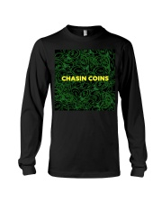 Chasin Coins Long Sleeve Tee front