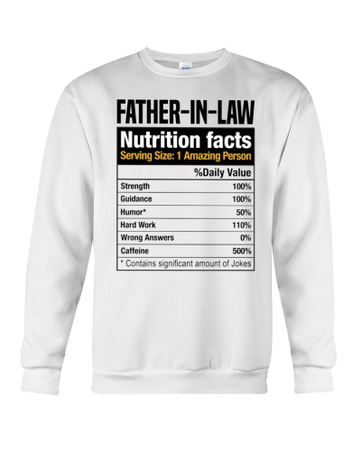 Father-In-Law Nutrition Facts - For FIL