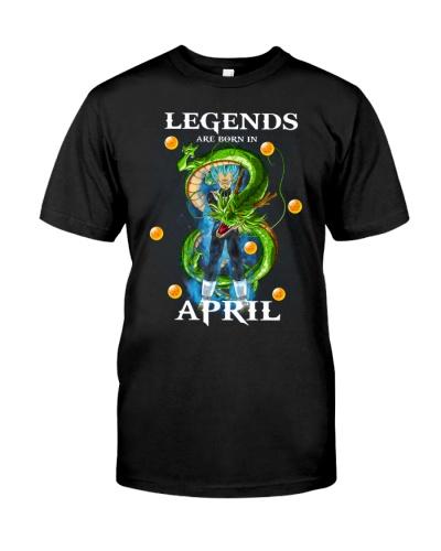 Dragon Vegeta Legends are born in April