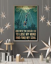 To The Ocean I Go To Lose My Mind Scuba Diving 11x17 Poster lifestyle-holiday-poster-1