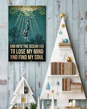 To The Ocean I Go To Lose My Mind Scuba Diving 11x17 Poster lifestyle-holiday-poster-2