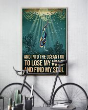 To The Ocean I Go To Lose My Mind Scuba Diving 11x17 Poster lifestyle-poster-7