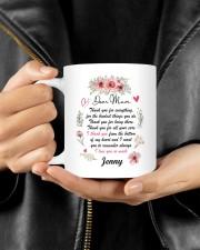 Personalized Thank You For Everything To Mom Mug ceramic-mug-lifestyle-25