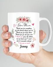 Personalized Thank You For Everything To Mom Mug ceramic-mug-lifestyle-26