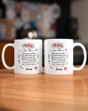 Personalized Thank You For Everything To Mom Mug ceramic-mug-lifestyle-51