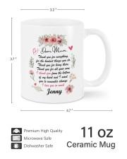 Personalized Thank You For Everything To Mom Mug ceramic-mug-lifestyle-62