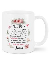 Personalized Thank You For Everything To Mom Mug front