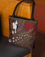 Bull-Terrier-dog-the-road-to-my-heart All-over Tote aos-all-over-tote-lifestyle-front-02
