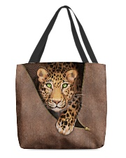Leopard All-over Tote back