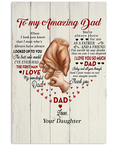 Dad You're Always There For Me As A Father I LoveU