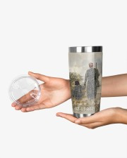 Personalized Father Daughter Hunting Buddies 20oz Tumbler aos-20oz-tumbler-lifestyle-front-23