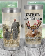 Personalized Father Daughter Hunting Buddies 20oz Tumbler aos-20oz-tumbler-lifestyle-front-59