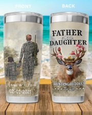 Personalized Father Daughter Hunting Buddies 20oz Tumbler aos-20oz-tumbler-lifestyle-front-90