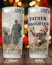 Personalized Father Daughter Hunting Buddies 20oz Tumbler aos-20oz-tumbler-lifestyle-front-98