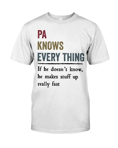 know every thing PA