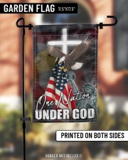 "One Nation Under God 11.5""x17.5"" Garden Flag aos-garden-flag-11-5-x-17-5-lifestyle-front-10"