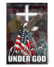"One Nation Under God 11.5""x17.5"" Garden Flag front"