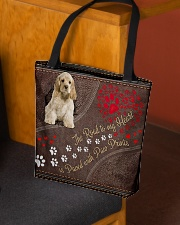 American-Cocker-Spaniel-dog-the-road-to-my-heart All-over Tote aos-all-over-tote-lifestyle-front-02