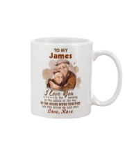 Personalized Name Love U In The Morning To Husband Mug front